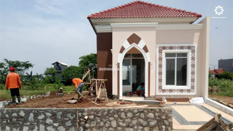 Progress Final Pembangunan Rumah Cotoh Jazeera Residence (1)