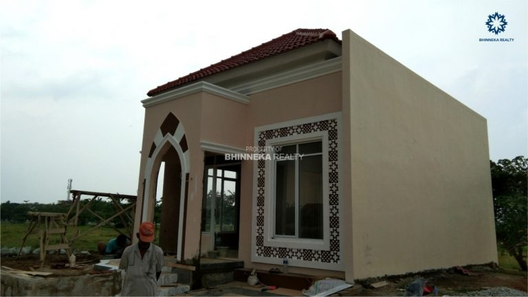 Progress Final Pembangunan Rumah Cotoh Jazeera Residence (4)